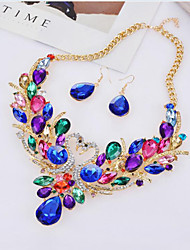 cheap -Women's Bridal Jewelry Sets Multi-stone Fashion Party Special Occasion Daily Casual Synthetic Gemstones Alloy Animal 1 Necklace 1 Pair of