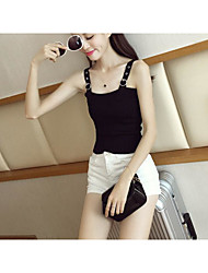 Fall universal basic models wild solid color lo shi short paragraph Slim was thin knit backing small bottoming