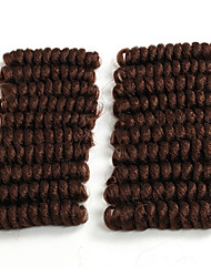 Bouncy Curl crochet hair twist 20inch black/burgundy saniya curl Synthetic kanekalon braiding hair bouncy twist Freetress Braid Kinky Twisted