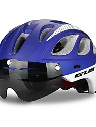 economico -Casco da bici Ciclismo 20 Prese d'aria One Piece Casco con Googles A rete Ciclismo