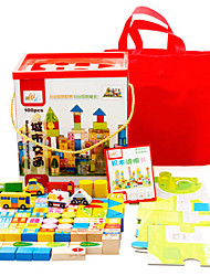 baratos -Blocos de Construir Brinquedo Educativo Playsets veículos Brinquedos Brinquedos Peças Não Especificado Unisexo Dom