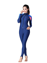 cheap -Women's 3mm Wetsuits Breathable Quick Dry Anatomic Design Neoprene Diving Suit Long Sleeve Diving Suits-Swimming Diving Spring Summer