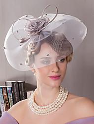baratos -Seda Headbands 1 Casamento Ocasião Especial Ao ar livre Capacete