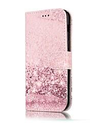 abordables -Coque Pour Samsung Galaxy A5(2017) A3(2017) Porte Carte Portefeuille Avec Support Clapet Coque Intégrale Marbre Dur faux cuir pour A3