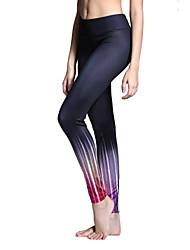 abordables -Mujer Pantalones de Running Secado rápido Transpirable Medias/Mallas Largas Leggings Prendas de abajo Yoga Pilates Ejercicio y Fitness
