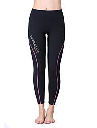 Unisex 1,5 mm Neopren kalhoty Rychleschnoucí Anatomický design Prodyšné neoprén Diving Suit Cyklistické kalhoty Spodní část oděvu-Plavání