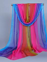 cheap -Women's Cute Silk Rectangle Print