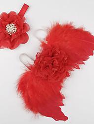 abordables -Accessoires Cheveux Toutes les Saisons Dentelle Bandeaux Unisexe - Blanc Rouge Rose Claire Fuchsia