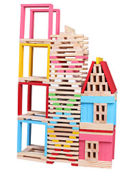 baratos -Blocos de Construir Brinquedo Educativo Brinquedos Castelo Peças Crianças Rapazes Dom