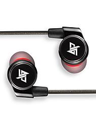 R1S Dans l'oreille Câblé Ecouteurs Dynamique Aluminum Alloy Sport & Fitness Écouteur LA CHAÎNE HI-FI Casque