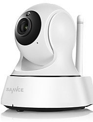 cheap -SANNCE 1.0 MP Indoor with IR-cut Day Night 64(Day Night Motion Detection Remote Access Plug and play Wi-Fi Protected Setup IR-cut) IP