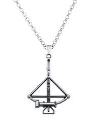 cheap -Men's Women's Geometric Unique Design Logo Style Dangling Style Vintage Euramerican Pendant Necklace Jewelry Alloy Pendant Necklace ,