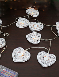 1PCS 5V 1.2M 10 Leds Warm White Holiday Decoration Christmas Decorative LED String Lights
