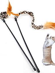 Недорогие -Дразнилки для кошек Матовый черный текстильный Назначение Кошка Котёнок