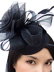 cheap -Feather Net Fascinators Hats Birdcage Veils 1 Wedding Special Occasion Headpiece