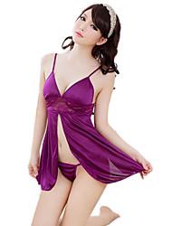 Women's Fashion Lace Jacquard Sexy Temptation Pajamas