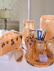 baratos -Jogo de Acessórios para Banheiro Resina /Barroco