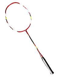 Badminton Rackets Durable Lightweight Carbon Fiber 1 Piece for Indoor Outdoor Performance Practise Leisure Sports
