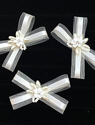 cheap -Acrylic Net Flowers Birdcage Veils Hair Clip Hair Claws Headpiece