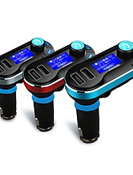 cheap -Wireless Bluetooth Car Kit MP3 Player FM Transmitter LCD Dual USB Charger