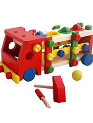 economico -Costruzioni per il regalo Costruzioni Hobby e passatempo Autobus Legno Da 2 a 4 anni Da 5 a 7 anni Da 8 a 13 anni Giocattoli