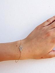 levne -Dámské Řetězové & Ploché Náramky Šperky Módní Slitina Srdce Šperky Svatební Párty Zvláštní příležitosti Narozeniny Zásnuby