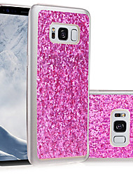 economico -Custodia Per Samsung Galaxy S8 Plus S8 IMD Fai da te Custodia posteriore Glitterato Morbido TPU per S8 S8 Plus S5 S4