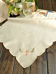 economico -Quadrato Cucito Tovaglioli , Miscela polyester / cotone MaterialeCena Decor Favor Decorazione casa Hotel Dining Table Wedding Party
