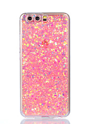 cheap -For Huawei P10 Lite P10 Case Cover Shockproof Back Cover Case Glitter Shine Soft Acrylic for Huawei P9 Lite P8 Lite P8 Lite 2017