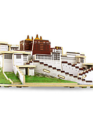 abordables -Puzzles 3D Puzzle Modelo de madera Juguetes Edificio Famoso Arquitectura 3D Madera Unisex Piezas