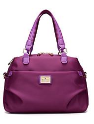 Women Bags All Seasons Nylon Shoulder Bag for Casual Sports Formal Outdoor Professioanl Use Blue Black Purple