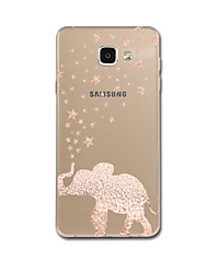 cheap -For Ultra Thin Pattern Case Back Cover Case Elephant Soft TPU for Samsung A3(2017) A5(2017) A7(2017) A7(2016) A5(2016) A8
