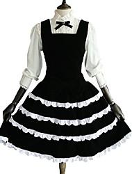 cheap -Gothic Lolita Dress Princess Women's Girls' One Piece Dress Blouse/Shirt Cosplay Long Sleeves