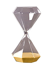 cheap -Scandinavian Time Diamond Hourglass Decoration Light Luxury Retro Nordic Living Room Furnishings Soft Decorations Wedding Gifts