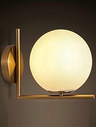 AC 220-240 Max:60W E26/E27 Rustic/Lodge Country Electroplated Feature for Mini Style,Ambient Light Wall Sconces Wall Light