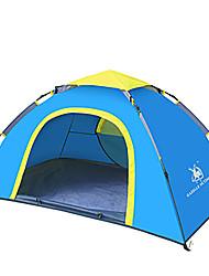 2 personnes Tente Unique Tente de camping Une pièce Tente automatique Etanche Pare-vent Résistant aux ultraviolets Pliable Respirabilité