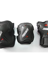 Unisex Knee Brace for Skateboarding Thickening Easy dressing Eases pain Wearproof 1 Set Sports Outdoor