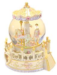 Недорогие -музыкальная шкатулка Снежный шар Классика Сияние в темноте Детские Взрослые Дети Подарок Универсальные Подарок