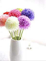 Недорогие -5 ветви разноцветные шелковые гортензии настольный цветок искусственные цветы