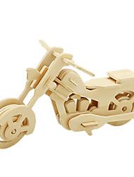 Kit fai-da-te Puzzle 3D Puzzle Macchine giocattolo Moto Giocattoli Moto 3D Fai da te Unisex Pezzi