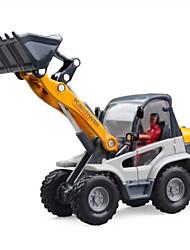levne -KDW Stavební stroj Kolový nakladač Toy Trucks & Construction Vehicles Autíčka Plastický Dětské Hračky Dárek