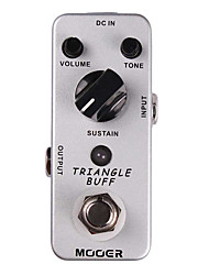Mooer Triangle Buff Fuzz Guitar Effect Pedal Legendary Rich Creamy/Violin-like Sound/Nice Fuzz Tone Full Metal Shell True Bypass