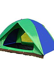 3-4 Pessoas Tenda Duplo Barraca de acampamento Um Quarto Barracas para Acampamento Família Prova-de-Água Resistente Raios Ultravioleta Á