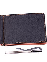 Men PU Casual Office & Career Shopping Wallet All Seasons