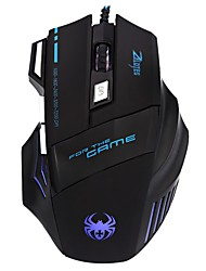 Wired Optical High Precision Gaming Mouse 7 Bottons 7200DPI Compatible with Win XP/Vista / Win 7/8/ME/2000/Mac OS