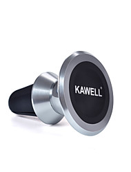 cheap -KAWELL Universal Magnetic Phone Car Mount Aluminum Air Vent Cell Phone Holder 360 Degree Adjustable for iPhone Samsung