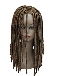 cheap -Synthetic Wig Curly Blonde Synthetic Hair Braided Wig / African Braids Black / Blonde / Brown Wig Women's Long Capless