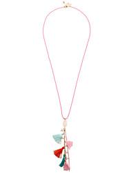 Femme Colliers Déclaration Bijoux Forme Géométrique Basique Bohême De côté Fait à la main Bijoux de Luxe Simple Style Arc-en-ciel Bijoux