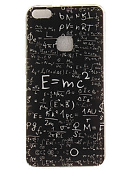 cheap -For Huawei P8 Lite (2017) P10 Case Cover Equation Pattern HD Painted TPU Material IMD Process Phone Case P10 Lite Honor 6X Y5 II Y6 II