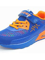 economico -Da ragazzo-scarpe da ginnastica-Casual-Comoda-Piatto-Tulle-Azzurro chiaro Schermo a colori Royal Blue